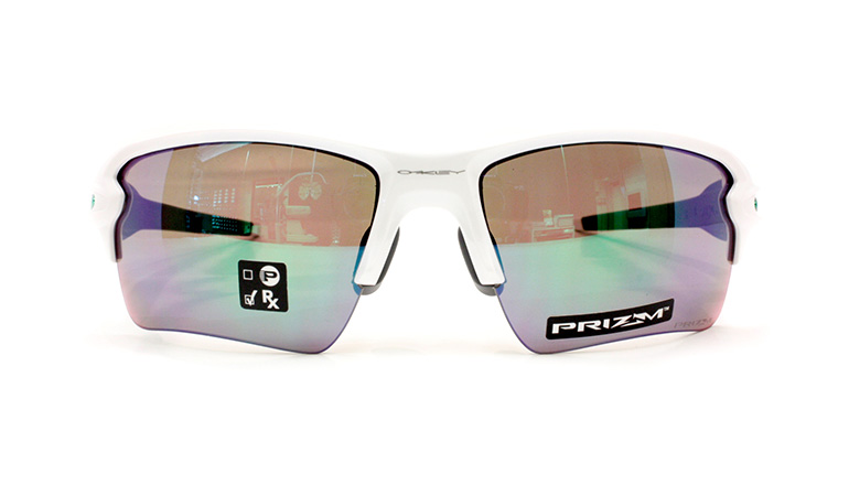 FLAK 2.0 XL Polished White/Prizm Jade