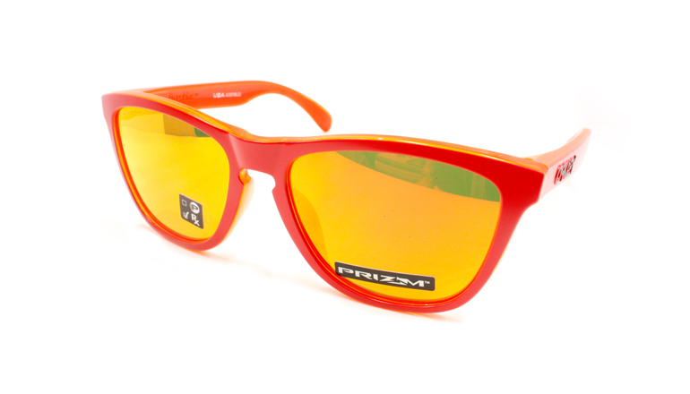 FROGSKINS (A) Matte Red/Prizm Ruby OO9245-7254