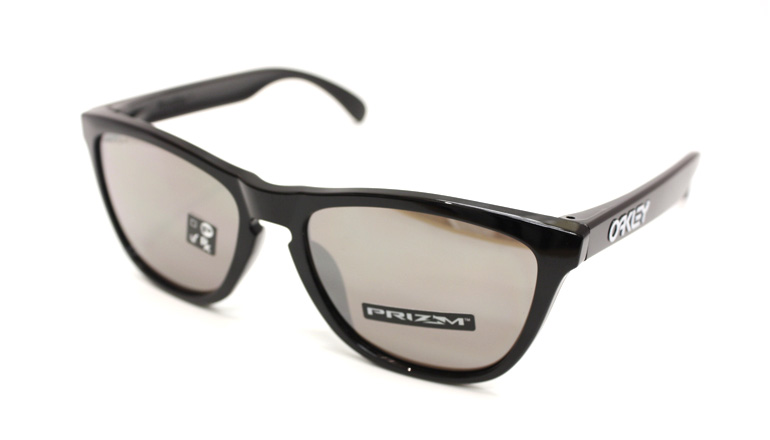 FROGSKINS (A)ポリッシュドブラック /Prizm Black OO9245-6254