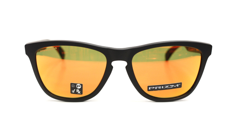 FROGSKINS (A) マットブラック/Prizm Ruby OO9245-6354