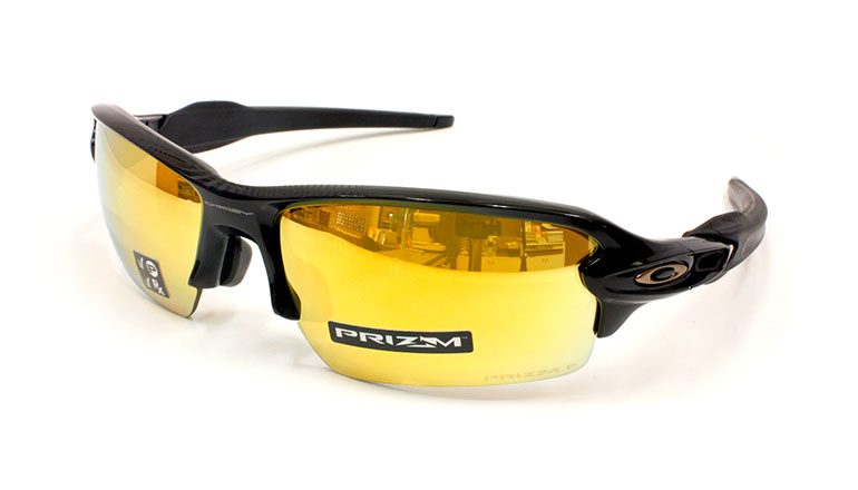 FLAK 2.0 (A) Polished Black/Prizm 24K Polarized OO9271-3161