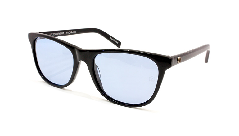 FLY NORWOOD BLACK/LIGHT BLUE POLA