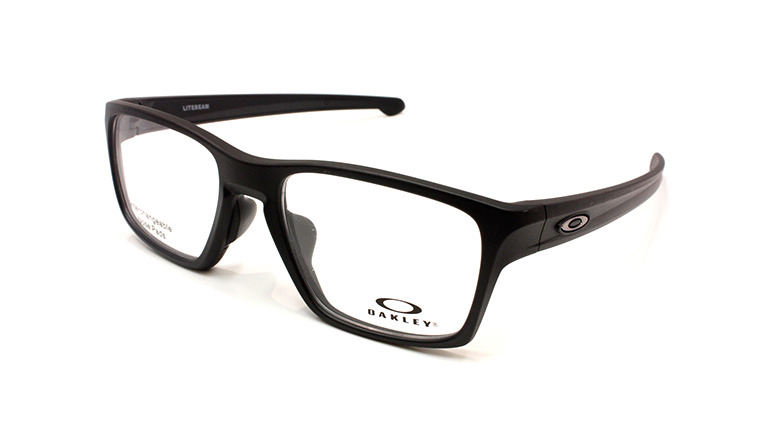 LITEBEAM (53) Satin Black/Black Ice Icon OX8140-0153