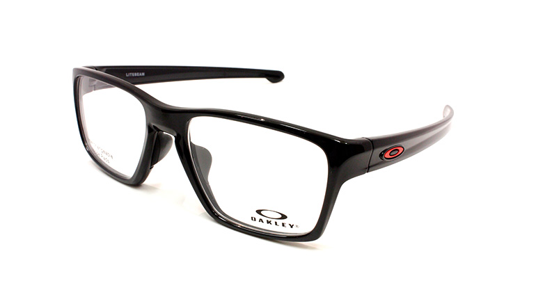 LITEBEAM (55) Polished Black/ Redline Icon OX8140-03