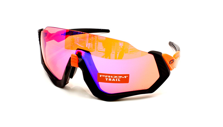 FLIGHT JACKET Neon Orange  Matte Black/Prizm Trail OO9401-0437