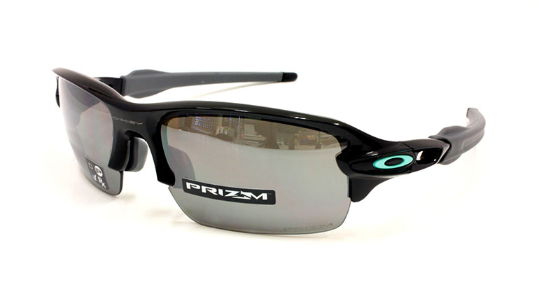 FLAK XS Polished Black/Prizm Black OJ9005-0159