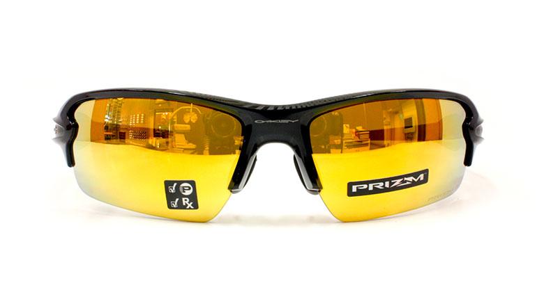 72d689da0b4 FLAK 2.0 (A) Polished Black Prizm 24K Polarized OO9271-3161 ...